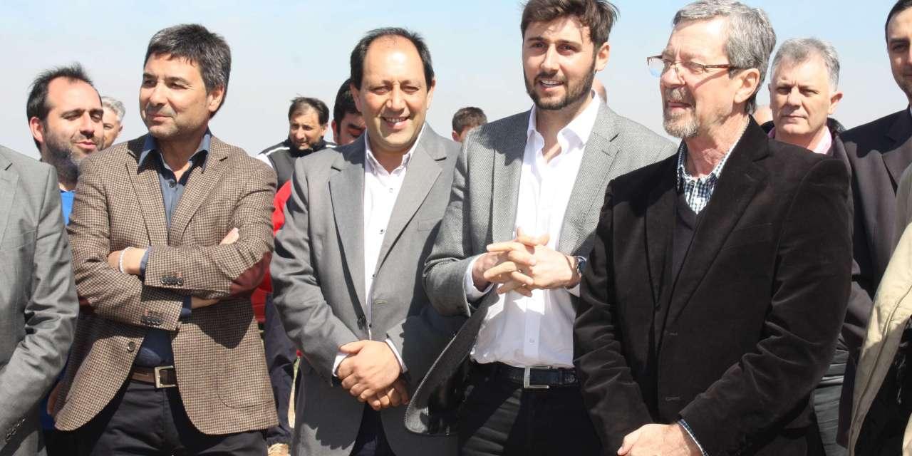 El Ministro de Industria de la provincia visitó General Deheza