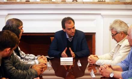Llamosas se reunió con el Secretario General de UATRE