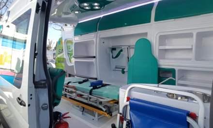 La comunidad universitaria cuenta con una nueva ambulancia