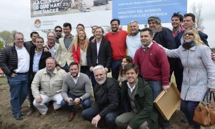 Lanzamiento del Programa Nacional «Hábitat» en Alcira Gigena