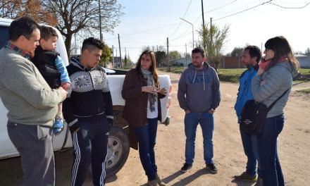 Agricultura entregó materiales de huertas al Anexo Educativo «Quechalen»