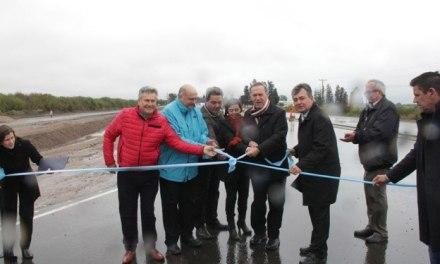 Schiaretti inauguró la rehabilitación de un tramo de la ruta provincial 10
