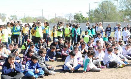 Más de 400 niños participaron de las Jornadas de concientización Ambiental