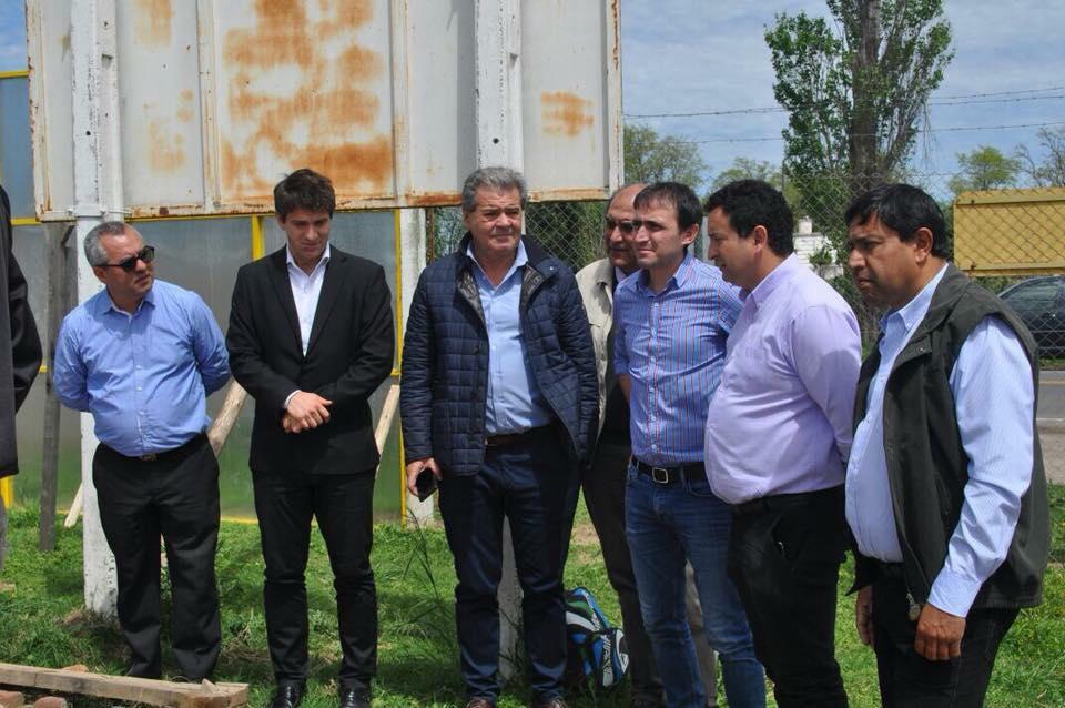 Avanza el gasoducto en Serrano