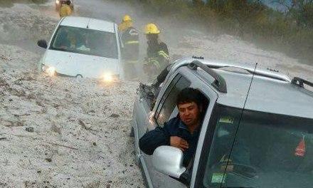 La Provincia asiste a los damnificados por el temporal de lluvia y granizo
