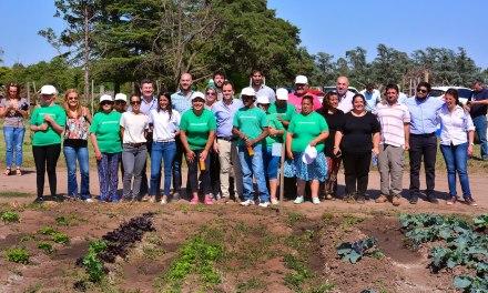"""El proyecto """"Huerta Sustentable"""" cumple un año"""