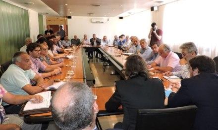 Giordano se reunió con gremios estatales para explicar los acuerdos alcanzados con Nación