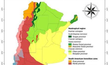 Investigadores de Exactas presentan un nuevo mapa biogeográfico de Argentina