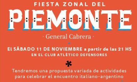 Vuelve la Fiesta Zonal del Piemonte