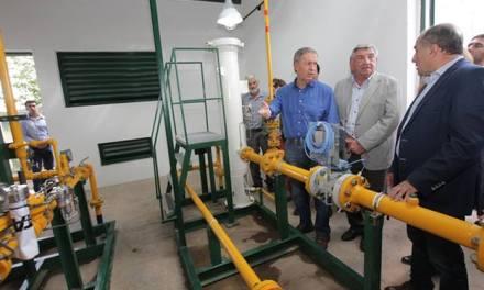 Gasoductos: se habilitó la planta reductora de Cintra y Chilibroste