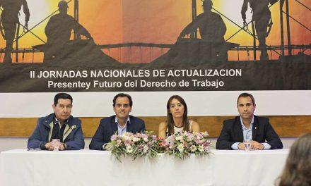 II Jornadas Nacionales de Actualización. Presente y Futuro del Derecho del Trabajo.