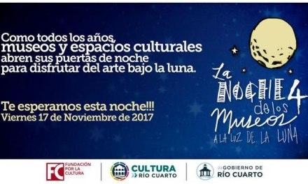 Comienza la noche de los museos en Río Cuarto