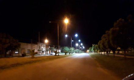 Villa Huidobro se ilumina con tecnología Led