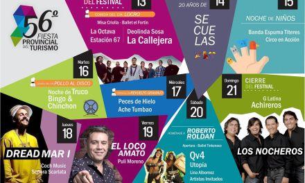 Achiras: Se presentó la 56º edición de la Fiesta Provincial del Turismo