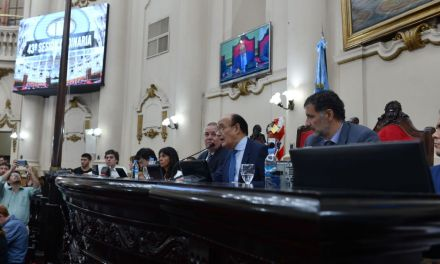 Se realizó la 43º Sesión Ordinaria de la Legislatura