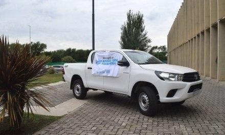Busso entregó equipamiento en el sur provincial