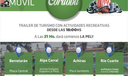 """Llega el """"Cine Móvil"""" a Río Cuarto"""