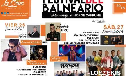 47º Festival del balneario: Homenaje a Jorge Cafrune