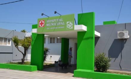 Nueva fachada del Hospital Municipal de Serrano