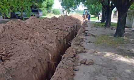Barrio Trulala: avanzan las obras para incluir al sector en la red de agua potable