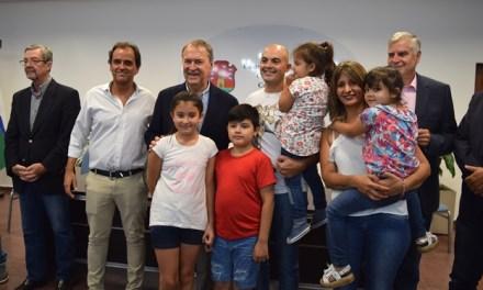 Río Cuarto: Diez familias recibieron las llaves de sus viviendas
