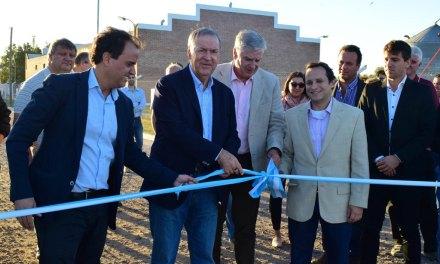 Schiaretti inauguró obras de desagües en Río Cuarto