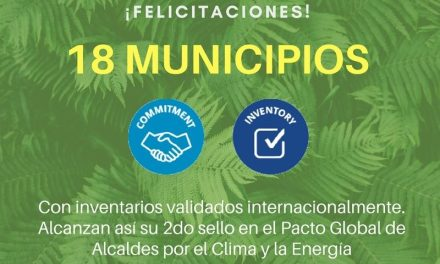 Arias fue distinguido por la Red de Municipios frente al cambio Climático
