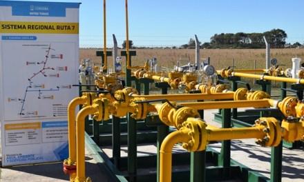 Gasoductos: habilitaron el ramal de Pueblo Italiano