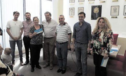 Entrega del programa Vida Digna en Serrano y Laboulaye