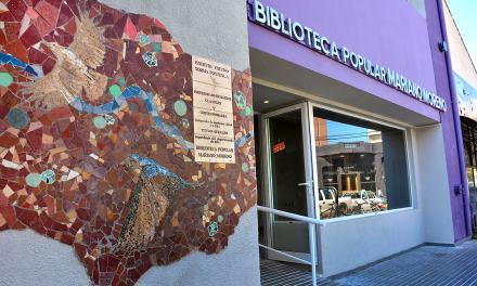 Hoy se inauguran las obras de refacción en la Biblioteca Mariano Moreno