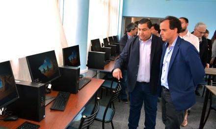 Se inauguró una nueva sala de computación para los talleres de capacitación laboral