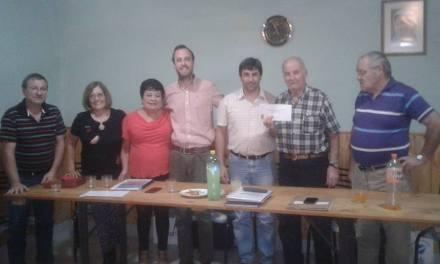 Entrega de subsidio para el centro de jubilados de Bulnes