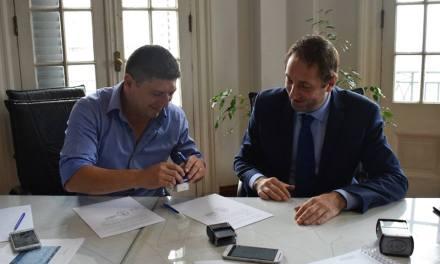 La Municipalidad de Las Acequias firmó un convenio de planificación territorial