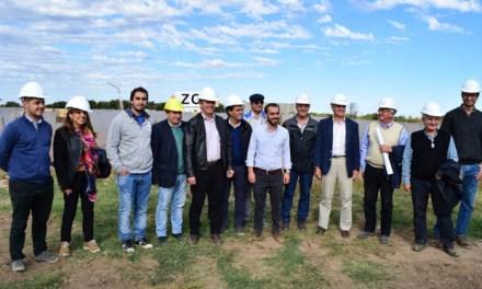 Río Cuarto: Provincia y Nación supervisaron el avance de obra de la Planta Depuradora