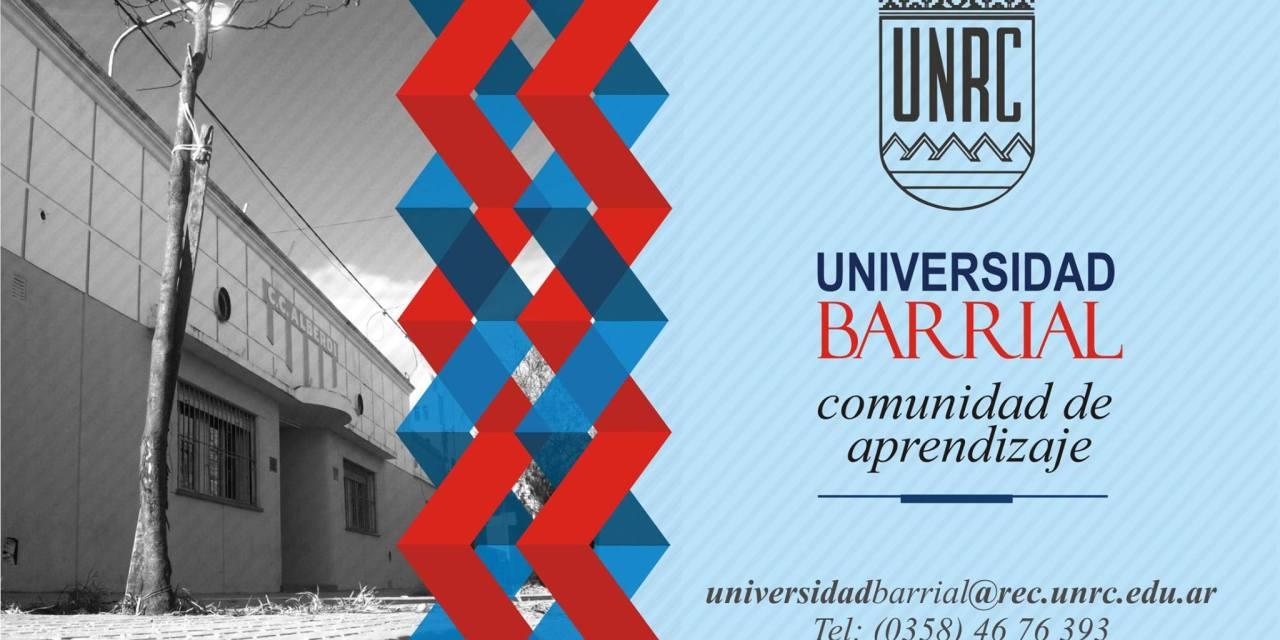 El lunes empiezan las inscripciones de la Universidad Barrial