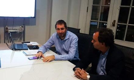 Llamosas se reunió con funcionarios nacionales en Buenos Aires