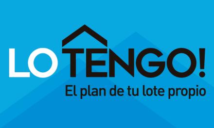 Se sortearán 305 lotes del programa «Lo Tengo» para 23 localidades