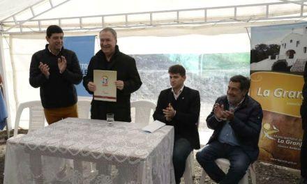 """Gasoductos: Finalizó la obra del """"Sistema Regional Sierras Chicas"""""""