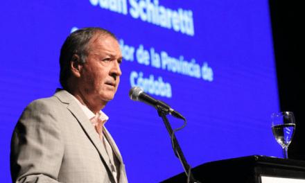 Schiaretti envió el proyecto de Ley para la quita de tasas sobre los servicios públicos