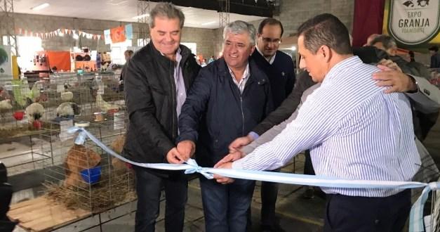 Busso cerró una nueva edición de la Expo Granja Viamonte
