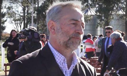 Buchardo: Zorrilla Anunció obras de agua y cloacas