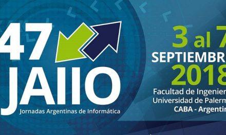Se realizarán las Jornadas Argentinas de Informática