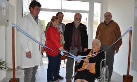 Inauguración de obras en el Hospital Municipal de Ucacha
