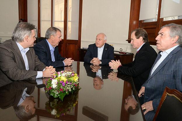Schiaretti participó en Santa Fe del homenaje al Brigadier Estanislao López