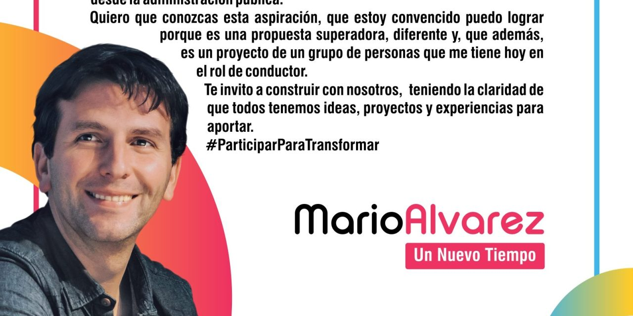 Mario Alvarez lanza su pre candidatura a Intendente de Río Cuarto