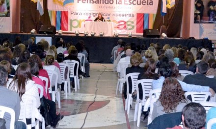 Se realizará el Congreso Provincial de Educación en La Carlota