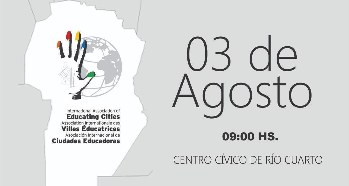 Se realizará el 1° Encuentro Regional de Ciudades Educadoras