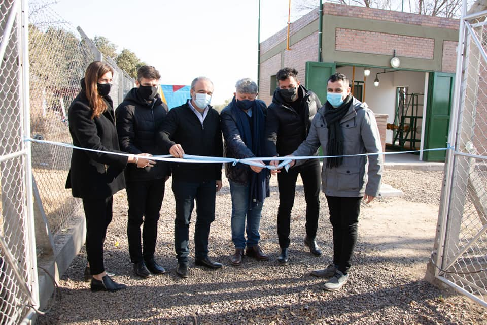 La Cruz: se inauguró la obra de gas natural
