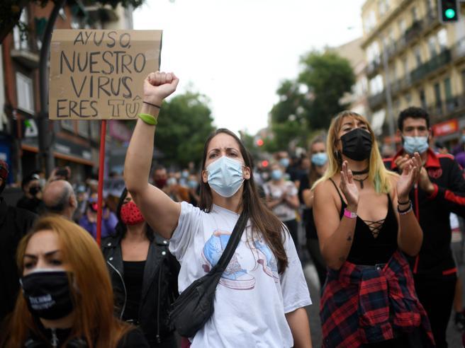 La rivolta delle periferie: il confinamento selettivo della destra a Madrid