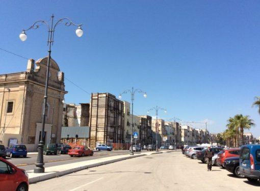 Taranto, 5 milioni per la passeggiata a mare di via Garibaldi